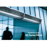 Aluminum Silver Overhead Door Commercial Air Curtains With Low Noise
