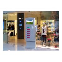 Best Video Advertising Automatical Smart Cell Phone Charging Kiosk Interactive Information wholesale