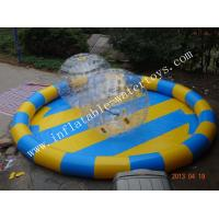Cheap Customized multiple color Inflatable Water Pools for zorb ball for sale