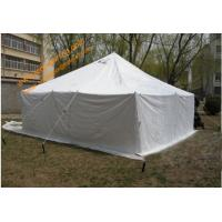 Outdoor Camping Galvanized Steel Waterproof Canvas Military Army Tent