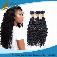 Best Natural Black Virgin Hair Extensions Kinky Curly , Malaysian Curly Hair Weave No Damage wholesale