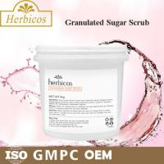 Quality 4KG Herbicos Granulated Sugar SPA Body Scrub Skin Care Face Cream for all skin wholesale