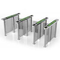 Quality Card Access Speed Gates With Servo Driver / Half Height Turnstile Entrance Gates wholesale