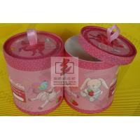 Quality Elegant Kraft Paper Tea Storage Containers Cylindrical Logo Printed wholesale