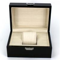 Quality Rectangle Highend Jewelry Wooden Box With Silk Screen Printing Logo wholesale