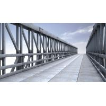Quality 4.2m Single Lane Modular Steel Bridge / Truss Assembly Steel Bridges wholesale