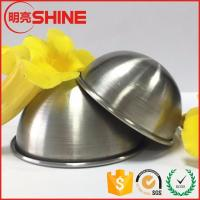 Best factory price high quality dome shape stainless steel meterial bath soap mold wholesale