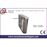 Arc Standard subway tripod turnstile gate with CE approved , Bridge type