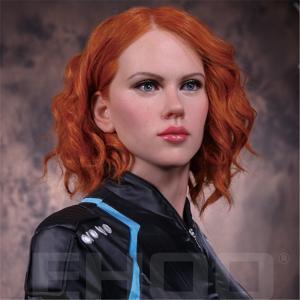 Best Scarlett Johansson Famous celebrity  Wax Sculpture Artists Skin Color On Display wholesale