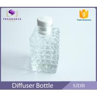 Quality Square Perfume Diffuser Bottle , Aromatic Reed Diffuser Glass Bottle wholesale