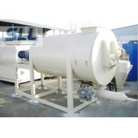 Professional Dry Mix Mortar Mixer Carbon Steel Material OEM / ODM Acceptable