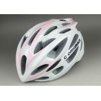 Lady Version PC Inmould Bicycle Helmet CE Approved and Different Types of Adjustment System For Choice