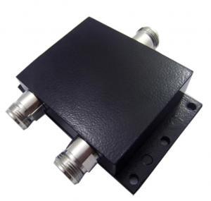 Microwave Wideband Cavity Rf 2 Way Splitter N Female 800 - 2700 MHz  Water Resistant