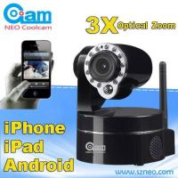 Best wireless indoor security ip camera 3x optical zoom  our patented model wholesale