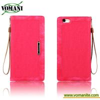 Flip PU leather with soft TPU cover case for Iphone 6s plus