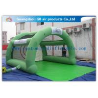 Best Green Paintball Enclosures Durable Inflatable Sports Dome Tent for Interactive Sports wholesale