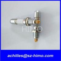 Metal 6 pin electronic connector lemo replacement