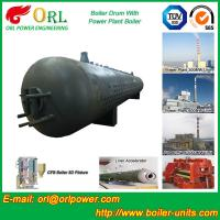 Quality Customization Diesel Boiler Drum Thermal Insulation With Water Tube wholesale