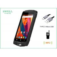 Best Android 5.1 3G 4G LTE IP68 Smartphone 5 Inch Rugged Phone With NFC PTT 1D 2D Scanner wholesale