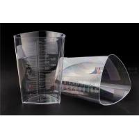 Quality 1000cc FDA Registered Iso 13485 Triangular Container Transparent Three Sided Material wholesale