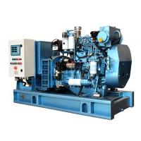 Quality 1500 RPM Diesel Generator Closed Cooling Open Type Diesel Generator With Fuel Tank Base wholesale