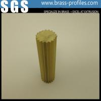 Best C38500 Alloy Copper Bar With Round Shape / Extruding Brass Profiles wholesale