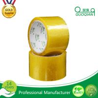 Quality Carton Adhesive Transparent BOPP Packing Tape Customized 48mmx66mm Width wholesale