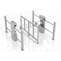 Quality Security Automatic Pedestrian Swing Barrier Gate Government Passage Turnstiles wholesale