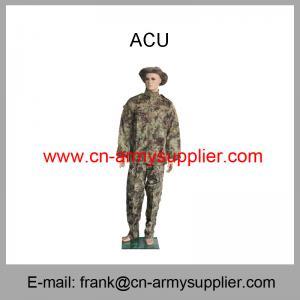 Wholesale Cheap China Military Pythons Grain Camouflage Army Combat Uniform