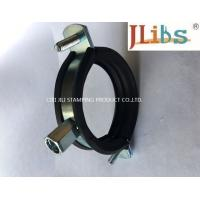 Best Cast Iron Pipe Round Pipe Clamps Gi Pipe Clamp With M8 M10 Combi Nut And Rubber And Bolt wholesale