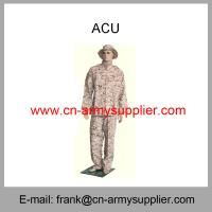 Wholesale Cheap China Military Digital Desert Camouflage Army Combat Uniform ACU