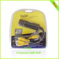Best 4 Channel USB DVR USB Video Capture Easycap004 wholesale