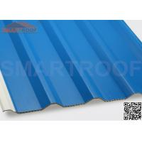 Quality 94% Efficiency PVC Hollow Plastic Roofing Panels Sheets With Low Heat Conductivity wholesale