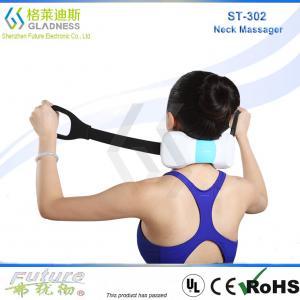 GLADESS Electric Neck And Shoulder Massager Belt Shiatsu Heating Neck Massager