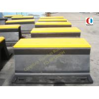 Quality Arch Anticollision Boat Rubber Fender , 600H PIANC Rubber Dock Fender wholesale
