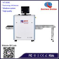AT5030 Dual Energy Lowest Cost Luggage X-ray Machine for Small Parcel and Handbag Inspection