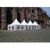 Best 5m * 5m Outdoor Event Tents For Business Activities ,  Pagoda Tents wholesale
