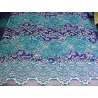 Quality Beautiful Floral Cotton Nylon Lace Fabric By The Yard With Eco-Friendly Dyeing wholesale