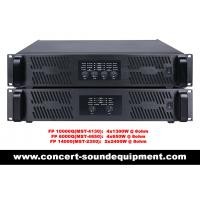 Best FP10000Q FP14000 Switch Mode Power Amplifier For Line Array Speaker / Subwoofer wholesale