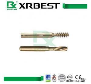 Locking Compression Plate Hex Bone Screws , 60 mm - 115 mm Titanium Screws For Surgery