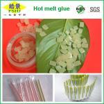 Best EVA Hot Melt Packaging Light Yellow Granule , Beverage Drink Packaging Adhesive Glue wholesale