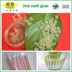 EVA Hot Melt Packaging Light Yellow Granule , Beverage Drink Packaging Adhesive Glue