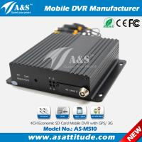Best Competitive 4CH Full D1 128GB SD Card Mobile DVR With Optional GPS 3G wholesale
