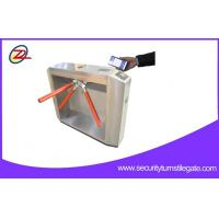 Buy cheap QR Bar Code Ticketing System Tripod Turnstile Gate For Scenic spot from wholesalers