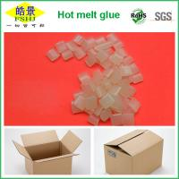 Best Rubber Hot Melt Glue Packaging Granule ,  Packing Box Adhesive Non Toxic wholesale