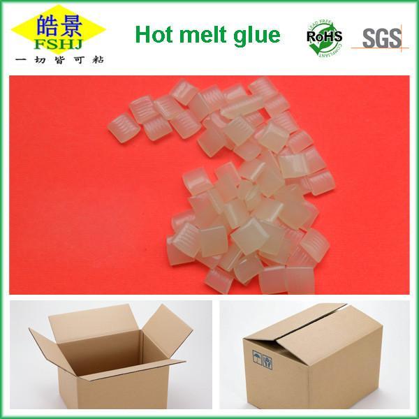 Cheap C5 HMA Packaging EVA  Based Hot Melt Adhesive High Temperature Glue 115±2°C for sale