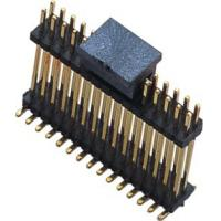 WCON SMT Dual Row Male Pin Header Connector 1.27mm Pitch Black