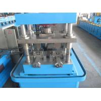 Best Thickness 0.6mm-2.0mm Steel Metal Shutter Door Guide Rails Forming Machine With Speed 8-12m/min wholesale