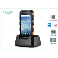 Best Barcode Scanner phone Android 5.1.1 Rugged 2G 16GB 5inch Phone with LF 125KHz wholesale