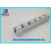 Buy cheap Aluminum Roller Track Flow Rail Roller Gravity Conveyor With PE Rollers 40A from wholesalers